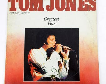 Tom Jones Greatest Hits Vinyl LP Record LC 50002