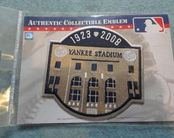 Large Yankee Stadium Baseball Patch