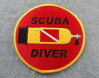 Scuba Diver     Patch