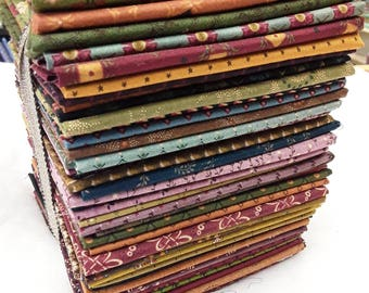 48 Kim Diehl Fat Quarter Bundle Could be Used to Make Pie In The Sky Quilt from the Simple Graces Book