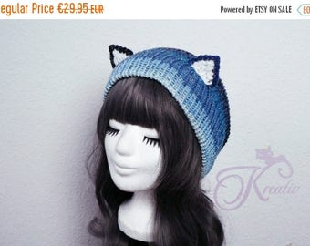 SALE Nightsky Cat beanie