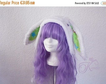 SALE Snow bunny hat (green)