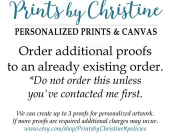 Order Additional Proofs