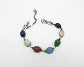 Vintage Scarab Bracelet 1960's