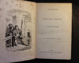 Oliver Twist 1850 edition