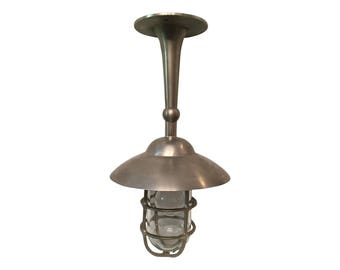 Nautical Style Bulkhead Fixed Pendant
