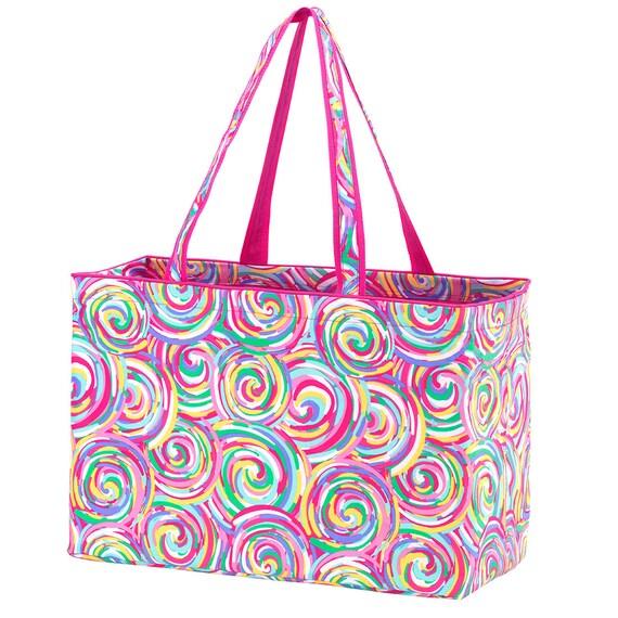summer sorbet Ultimate tote bag navy blue oversized bag monogrammed tote bag beach bag pool bag summer bag monogrammed gift
