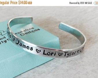 Sale SALE!  Personalized Mothers bracelet mothers jewelry gift for mom bracelet for mom jewelry for mom kids names children's names custom