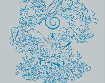 Aang T-shirt from the Last Airbender
