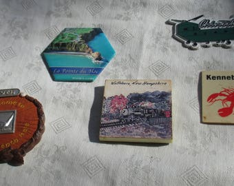 Lot Of Assorted Souvenir Refrigerator Magnets