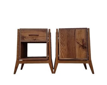 ON SALE Mid Century Modern End Tables & Nightstands With Storage