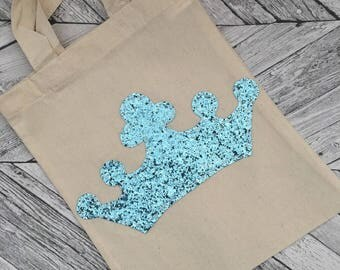 Blue Princess Party Bag