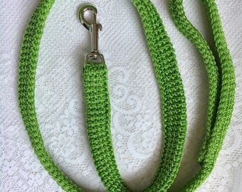 Green Dog Leash, Cactus Wedding, Lime Green Leash, Four Foot Leash, Wedding Dog Leash, Greenery dog leash