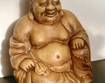 Unique ceramic buddha statue