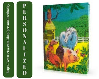 Farm Book My Farm Adventure Animals Farming Mystery Rooster Storybook Hardcover Custom Name Personalized Farm Children's Fiction Ages 4 to 9