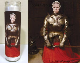 Brienne of Tarth Devotional Candle