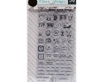 Prima Marketing - My Prima Planner Clear Stamps - Baby