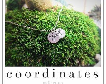 Custom Coordinates Necklace