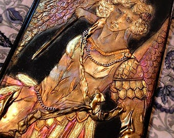 St Michael Journal Police Gift Knight Warrior Sword Angel Wings notebook Saint battle Made in Italy Diary ancient Rome Archangel Classic Art