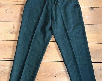 Vintage 1950s Richard Emms Wool Cspri Pants Trousers