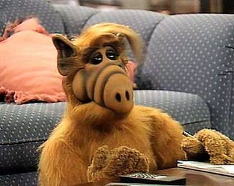 Still from the show ALF , 1980's