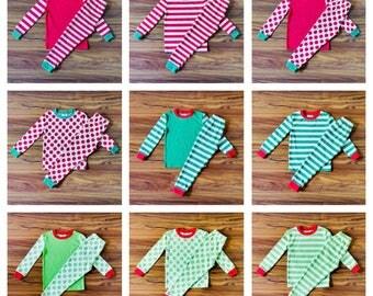 Christmas Pajamas, Monogram Christmas Pajamas, Personalized Christmas Pajamas, Adult Christmas Pjs, Family Christmas Pajamas, Christmas Pjs