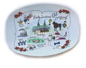 Derby Traditions Decorative Map Tray