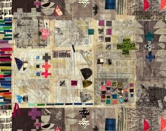 "Treasure Hunt Digital Print 30"" Panel by Marcia Derse 43184P-X Fabric BTP"