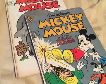 Disney Mickey Mouse Comic Books