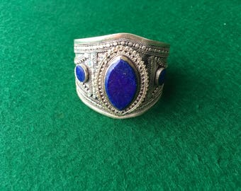 Genuine Lapis Cuff Bracelet Pakistan
