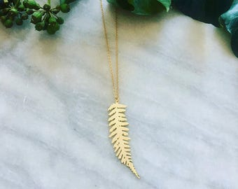 Fern leaf - Necklace