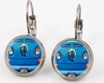 Peace VW Earrings