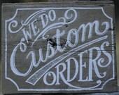 Custom Order - Penny Dredfuls