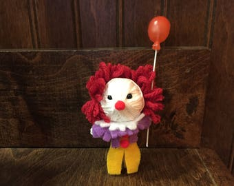Pennywise It Clown Voodoo String doll