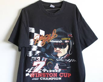 XLARGE Vintage 1995 Dale Earnhardt (Front and Back) Graphic T-Shirt