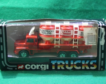 Vintage NOS Corgi Silo Truck - Made in Great Britian