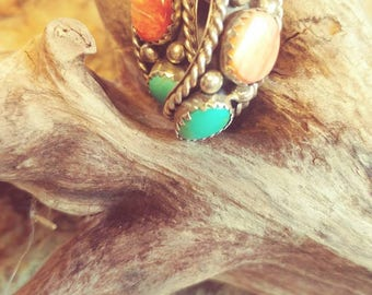 Vintage Southwestern Earrings