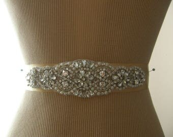 Wedding Belt, Bridal Belt, Bridesmaid Belt, Sash Belt, Wedding Sash, Bridal Sash, Belt, Crystal Rhinestone & Pearl