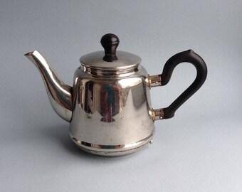 Vintage metal kettle Retro teapot Vintage Soviet pot Old kitchen Farmhouse milk pot Soviet cottage jug Coffee kettle Coffee pot kettle