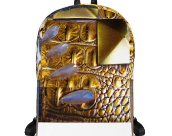 Abstract jewelled Backpack