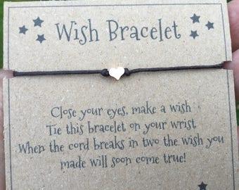 Wish bracelet, wish bracelets, wishing bracelet, dainty bracelet, dainty bracelets, make a wish, minimalist bracelet, simple bracelet