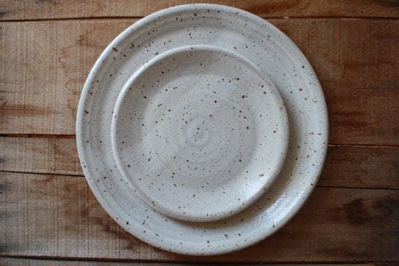 & Custom Dinnerware - Charger u0026 Plate Set - KJ Pottery