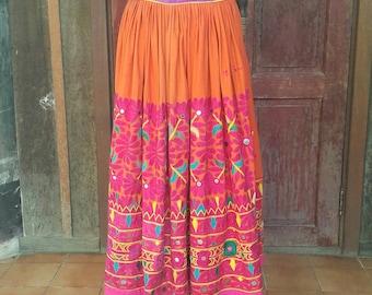 Vintage Banjara cotton skirt (#004)