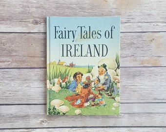 Fairy Tales of Ireland Rare Children's Book First Edition The Children of Lir Irish Cultural Book Irish Green Bottle Story Ireland Keepsake