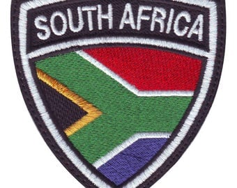 South Africa Crest Flag Embroidered Patch
