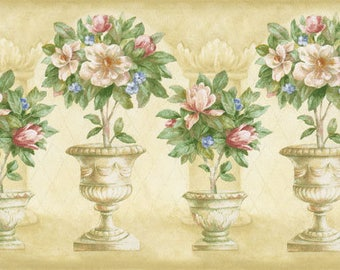 SALE! choice of 5 HALF-PRICE border sets! beautiful collection dollhouse wallpaper borders-lovely quality paper