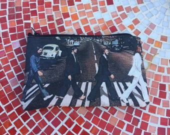 The Beatles Abbey Road Zipper Pouch, Accesory Bag