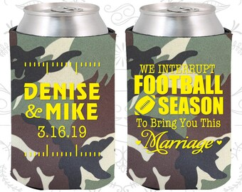 Army Camouflage Wedding, Army Camouflage Can Coolers, Army Camouflage Wedding Favors, Army Camouflage Wedding Ideas (314)