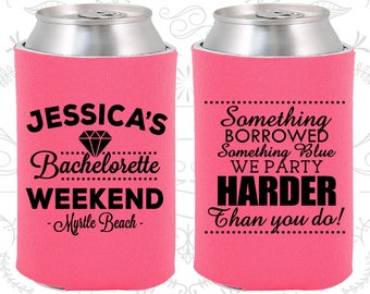 Bachelorette Can Cooler (C60028) Bachelorette Weekend - Bachelorette Party Favors - Bachelor Party Can Coolers - Bachelorette Can Coolers