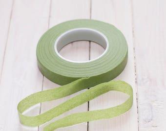 Stretch tape light-green 1/2 (12.5mm)